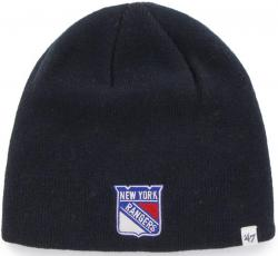 47 Brand New York Rangers NHL Beanie Beany Hat One Size Mütze Forty Seven