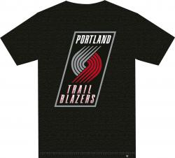 47 Forty Seven Brand Portland Trailblazers Club Tee NBA T-Shirt Mens Herren