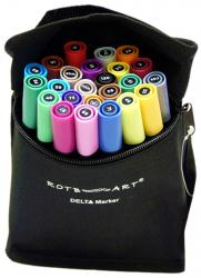 Delta Marker Grafikmarker 24er 24 Set Box Kit Grafik Design Marker Pens Graffiti