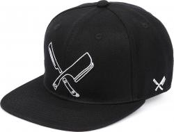 Distorted People Barber & Butcher Line Blades black Snapback Cap Basecap OSFA One Size