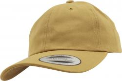 Flexfit Yupoong Low Profile Cotton Twill Strapback Dad Cap Adjustable Curry
