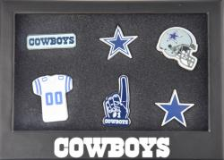 Forever Collectibles Dallas Cowboys 6 Piece Pin Badge Set Anstecker NFL