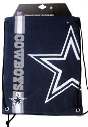 Forever Collectibles Dallas Cowboys Cropped Logo Drawstring Backpack Gym Sack