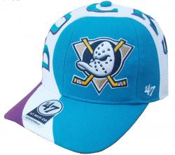 great fit the latest super cute Forty Seven 47 Brand Anaheim Ducks Circuit NHL MVP DP Curved Visor ...
