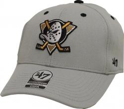 Forty Seven 47 Brand Anaheim Ducks Mask Logo Kickoff Contender Curved Visor Stretch Fit Cap NHL Limited Edition