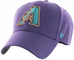 47 Brand Forty Seven Arizona Coyotes Black MVP Curved Visor Velcroback Cap