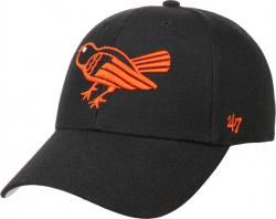Forty Seven 47 Brand Baltimore Orioles Cooperstown MVP Curved Visor Velcroback Cap Limited Edition