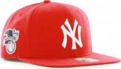 Forty Seven 47 Brand MLB New York Yankees Sure Shot Snapback Cap Red Captain