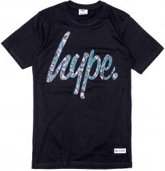 Hype Industrial Repeat Leaf Script Tee T Shirt T-Shirt Herren Mens M L XL XXL