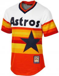 Majestic Athletic Houston Astros Cooperstown Cool Base MLB Replica Jersey Baseball Trikot Tee T-Shirt