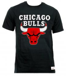 Mitchell & Ness Chicago Bulls Team Logo Traditional Tee T-Shirt Men S M L XL XXL