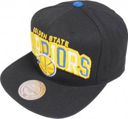 Mitchell & Ness Golden State Warriors Reflective Tri Pop Arch VQ85Z Snapback Cap