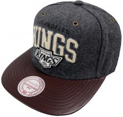 Mitchell & Ness Los Angeles Kings Podium EU317 Strapback Cap Kappe Basecap