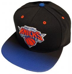 Mitchell & Ness New York Knicks Gradient Team Snapback Cap NBA NHL NZ55Z