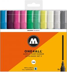 Molotow One4All 227 HS 10er Basic Main Set 3 Kit Lack Marker Stifte Paint Pen