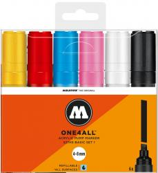 Molotow One4All One 4 All 327HS 327 HS 6er Set Kit Box Marker Paint Lackmarker