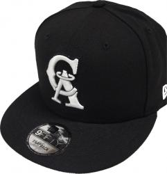 New Era Angels of Anaheim Black White Logo Snapback Cap 9fifty Limited Edition