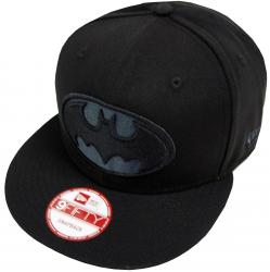 New Era Batman Black On Black Snapback Cap 9fifty Exclusive Limited Edition