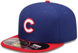 New Era Chicago Cubs MLB Diamond Era 59fifty 5950 Fitted Cap Royal Red Basecap Kappe Men