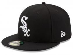 New Era Chicago White Sox AC Performance Game 59fifty Fitted Cap MLB Authentic