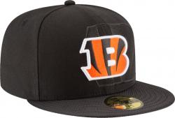 New Era Cincinnati Bengals 2016 Official NFL Sideline 59fifty Fitted Cap Mens
