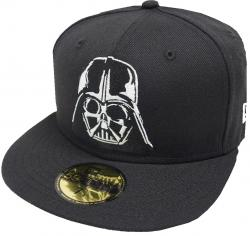 New Era Darth Vader Black White Cap 59fifty Basic Fitted Limited Edition Mens