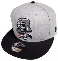 New Era Darth Vader Toki Heather Grey Snapback Cap 9fifty 950 Limited Edition