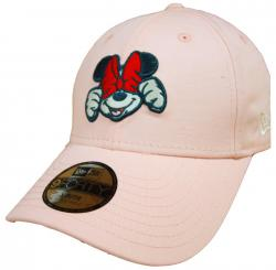 New Era Disney Xpress Minnie Mouse 9Forty Strapback Cap Pink Youth Jugendliche