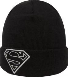 New Era Glow In The Dark Knit Superman Youth Beanie Beany Wool Hat Jugendliche