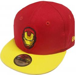 New Era Iron Man Hero Essential 9fifty 950 Infant Snapback Cap Kids Toddler Baby