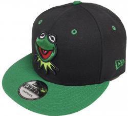 New Era Kermit Black Green Snapback Cap 9fifty Limited Edition 950 Muppets