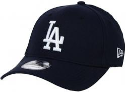 New Era Los Angeles Dodgers Stretch Fit Cap Navy 3930 39thirty Curved Visor L XL