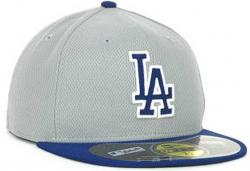 New Era MLB Los Angeles Dodgers Diamond Softmesh Fitted Basecap Cap Kappe