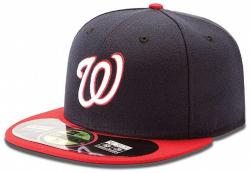 New Era MLB Washington Nationals 59fifty On Field Fitted Basecap Herren Men