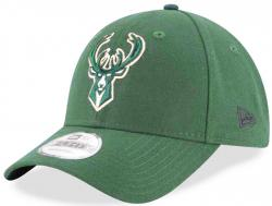 New Era NBA Milwaukee Bucks The League Velcroback 940 9Forty Cap Adjustable