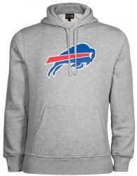 New Era NFL Buffalo Bills Hoody Sweater Hoodie Grey Kaputzenpullover Herren Mens