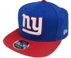 New Era NFL New York Giants 2 Tone Snapback Cap Kappe 9fifty Basecap