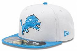 New Era NFL On Field Detroit Lions Cap 5950 Basic Fitted Team Basecap Cap Kappe