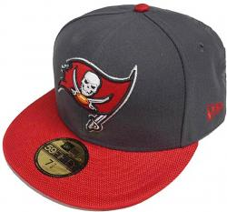 New Era NFL Tampa Bay Buccaneers Ballistic VIsor Cap 59fifty Fitted Basecap 5950