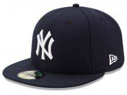 New Era New York Yankees AC Performance Game 59fifty Fitted Cap MLB Authentics