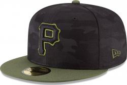 New Era Pittsburgh Pirates Memorial Day Fitted Cap 59fifty Basecap Limited Special Edition