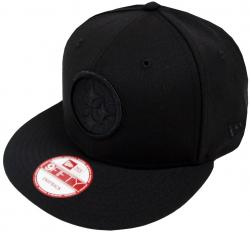 New Era Pittsburgh Steelers Black On Black Snapback Cap 9fifty Limited Edition