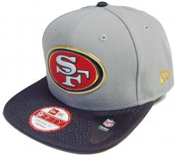 New Era San Francisco 49ers Gold Collection Snapback Cap Kappe 9fifty Basecap