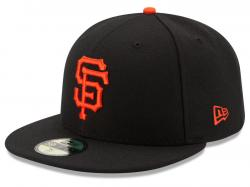 New Era San Francisco Giants AC Performance Home 59fifty Fitted Cap Authentics