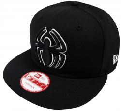 New Era Spiderman Black White Marvel Comics Snapback Cap 9fifty Limited Edition