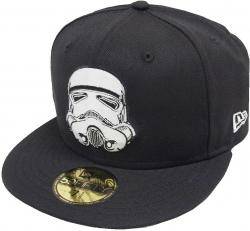 New Era Storm Trooper Cap 59fifty Basic Fitted Limited Edition Star Wars Mens