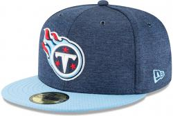 New Era Tennessee Titans NFL Sideline 18 Home On Field Cap 59fifty Fitted OTC