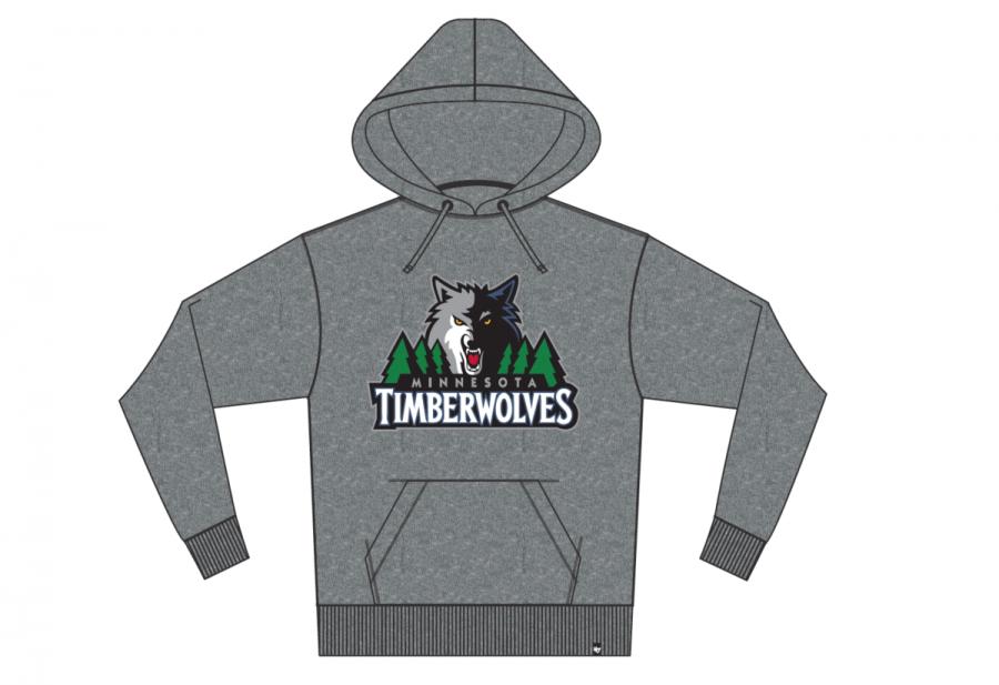 e6fd1d42c60 47 Forty Seven Brand Minnesota Timberwolves Headline Hoody Kapuzenpullover  Mens - www.hiphopgermany.de