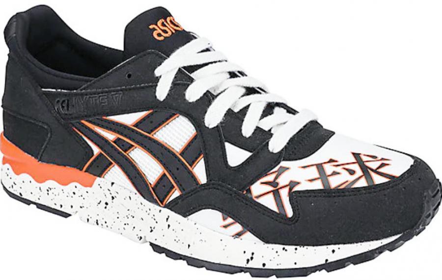super popular 60a1e 5d2d4 Asics Tiger Gel Lyte V Cream Black 1193a157-100 Sneaker ...
