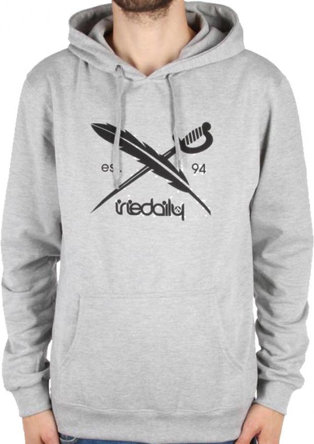 absolut stilvoll 100% hohe Qualität verschiedene Stile Iriedaily Irie Daily Flag Hooded Grey Melange Hoody Sweater ...
